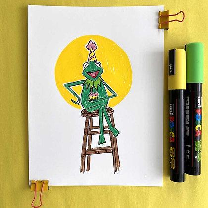 Kermit the Frog - Original Art