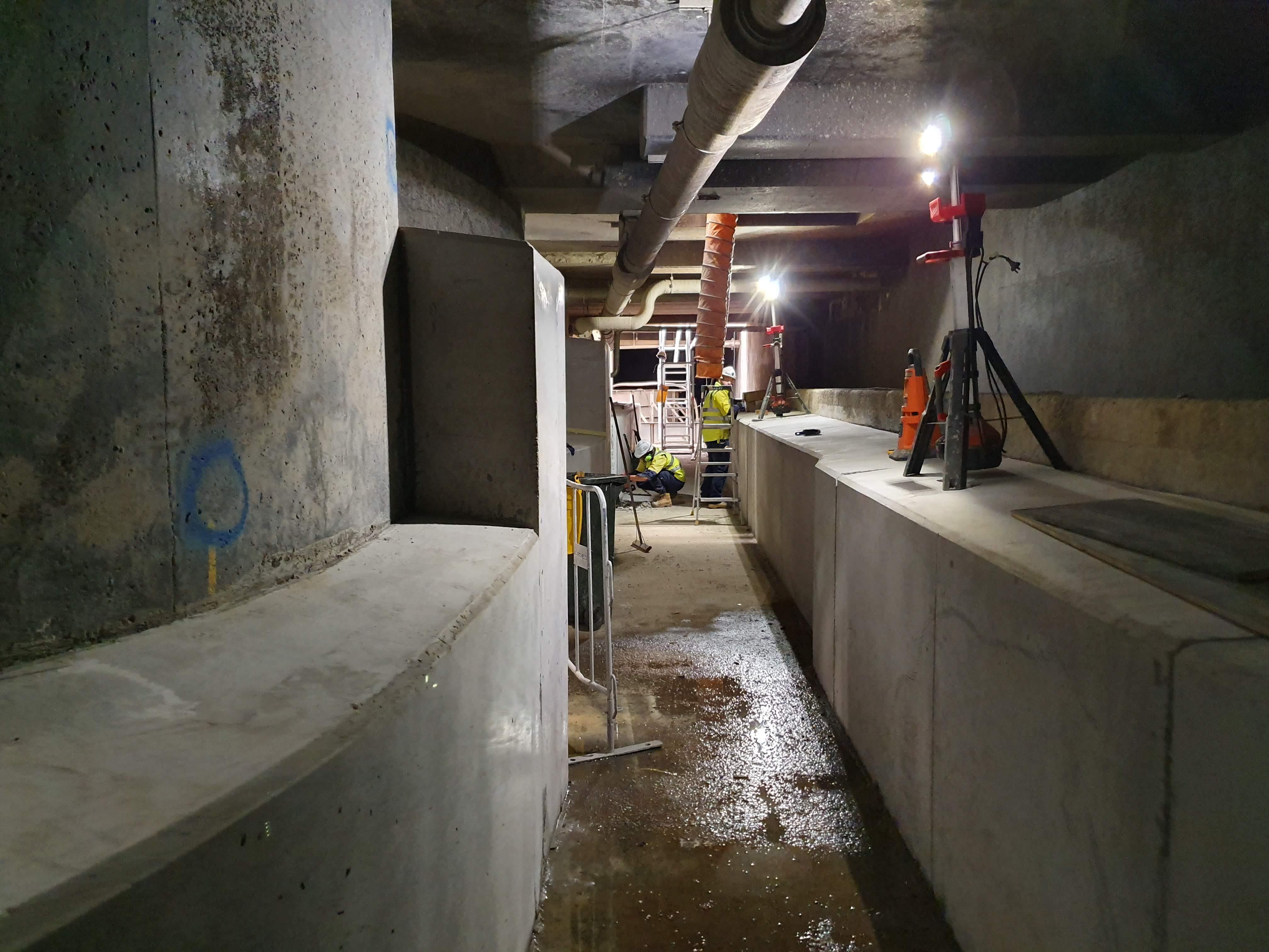 ICON Downer Under Ground Tunnel Works 20