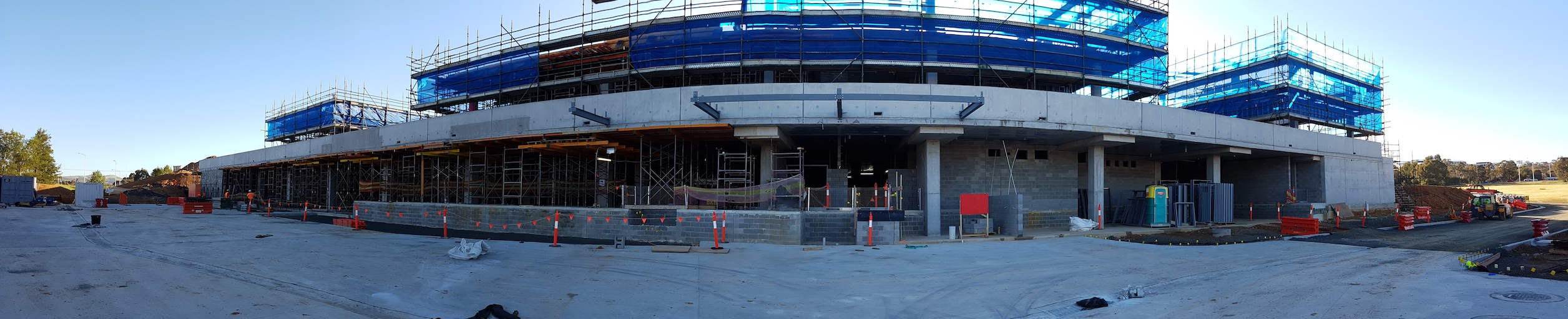 UC Hospital Concrete Placement