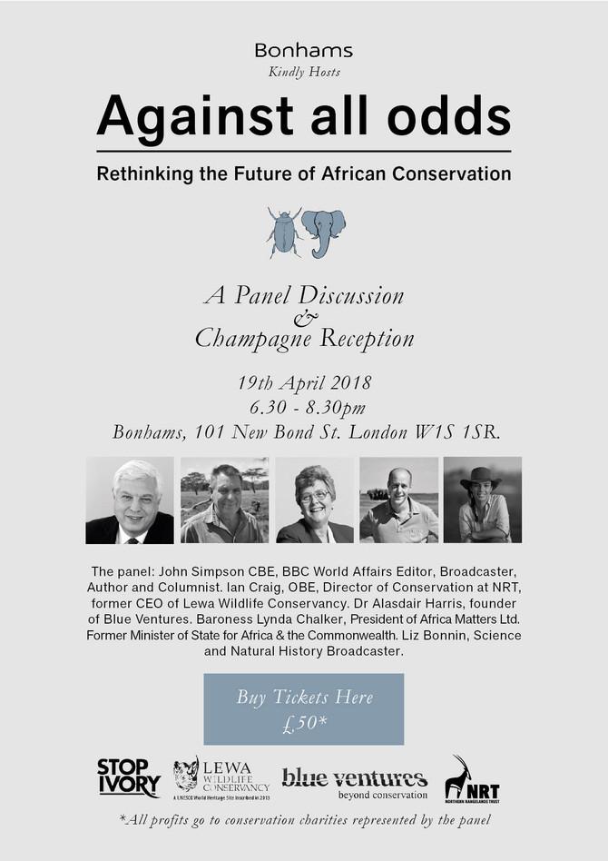 Against All Odds Panel Debate 19.04.18