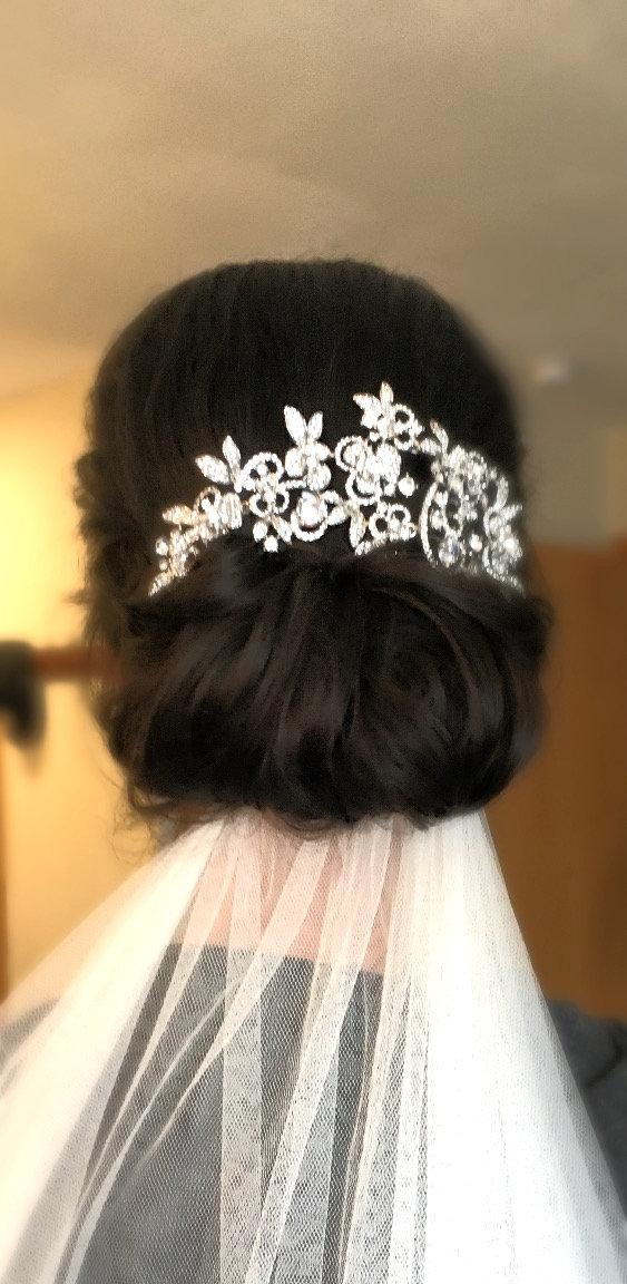 Bridal Hairstyle Wedding Day