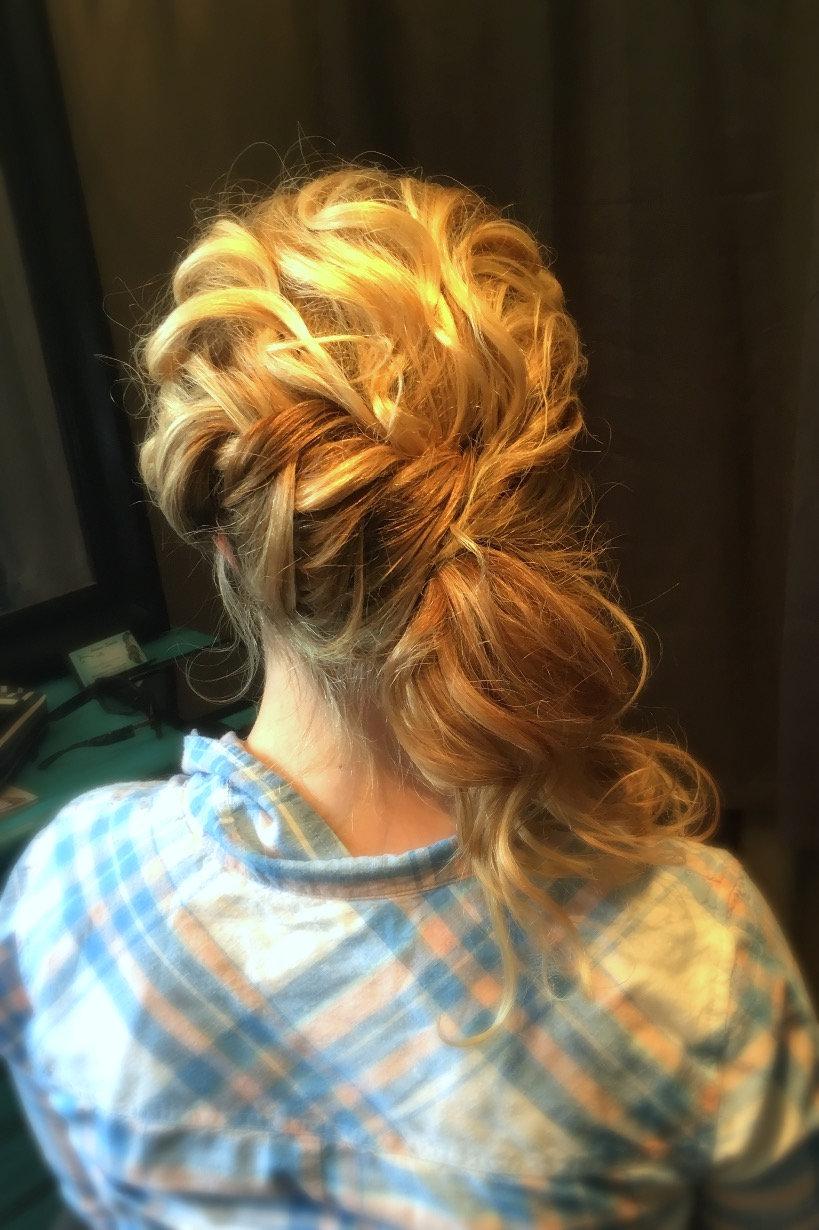 Bridal Hairstyle Trial Run