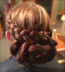 Wedding Hair Chignon