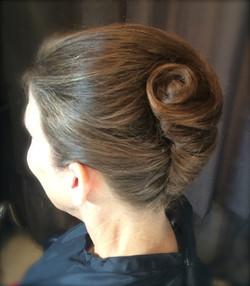 French Twist Wedding Hairstyle