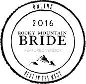 wedding vendor award badge rocky mountain bride