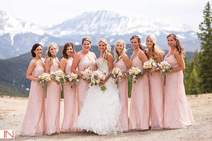 Bridal Party Hair and Makeup Breckenridge Colorado