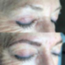 semi permanent 6d eyebrow embroidery