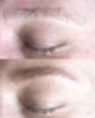 eyebrow micro shading
