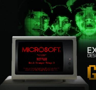 Microsoft: Stranger Things