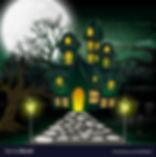 cartoon-of-haunted-house-with-full-moon-
