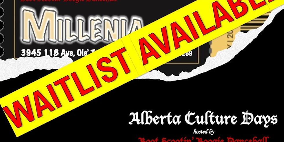 Alberta Cultural Days featuring MILLENIA