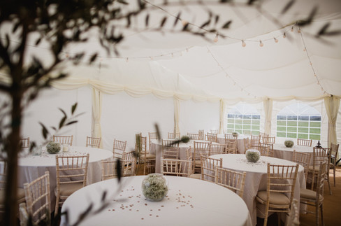 A cosy corner in our Frame Marquee