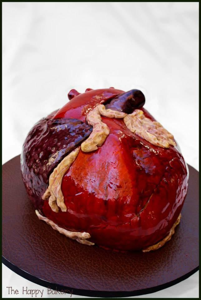 Cardiologist's Groom's Cake