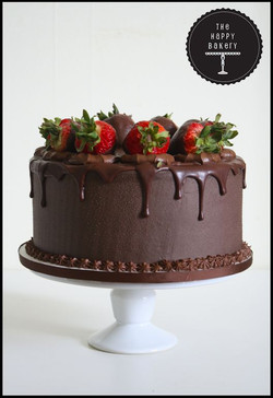 Death by Chocolate Strawberry Cake