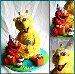 Big Bird & Elmo