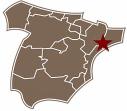 Map Spain Terra Alta
