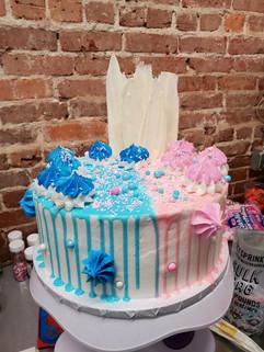 Gender Reveal Drip Cake.JPG