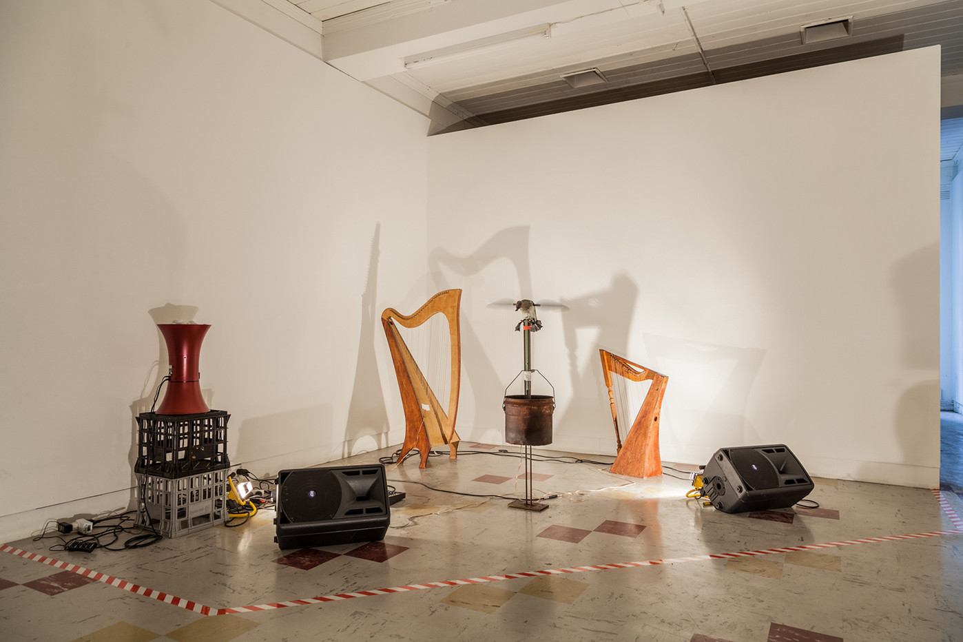 Four minutes and thirty-three seconds in cat years, TCB Art inc. Photo by Christo Crocker