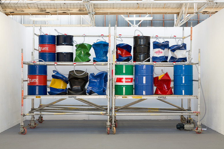 Bunghole, Masters Graduate Exhibition, VCA Sculpture Shed, 2014. Photo by Christo Crocker