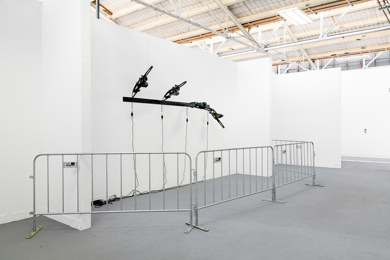 Shiver me timbers, Masters Graduate Exhibition,  VCA Sculpture Shed, 2014 Photo by Christo Crocker