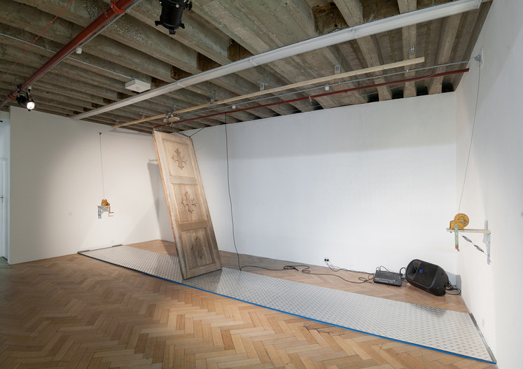 Flee Flu, West Space Solo Exhibition Photo by Christo Crocker