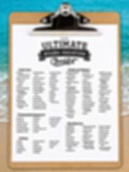 Lista para viajes de buceo
