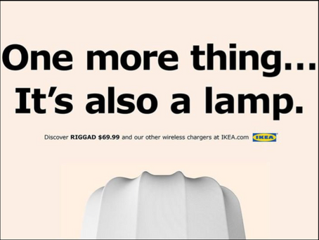 It's also a lamp.