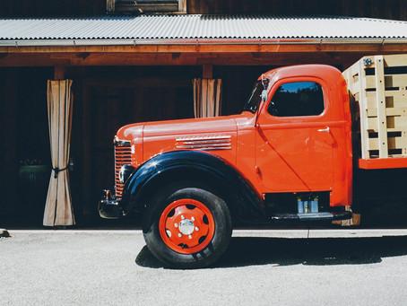 Un sueco y un camión de butano