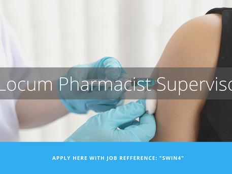Locum Pharmacist Supervisor