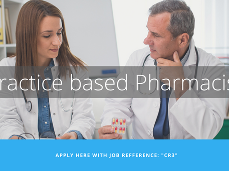 [CLOSED] Practice-based Pharmacist