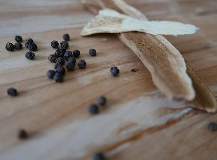 Reishi Slices + Black Peppercorns.JPG