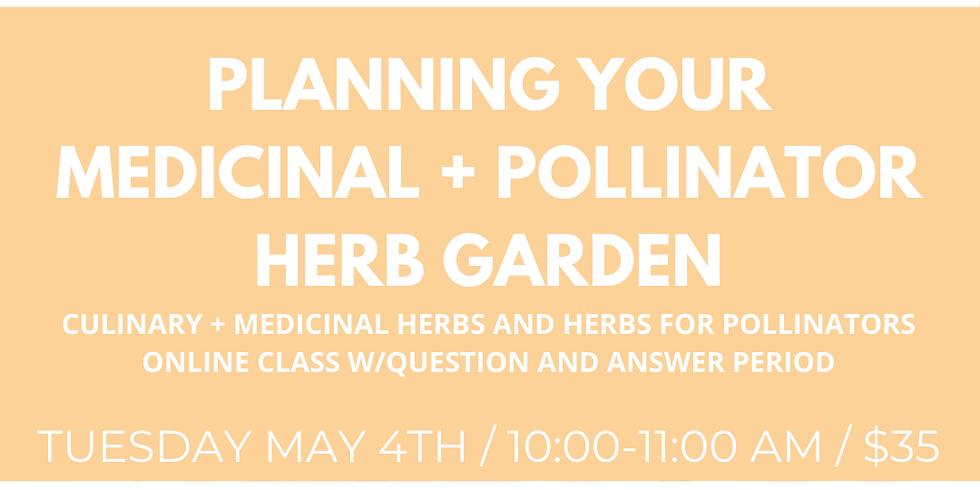 Planning Your Medicinal + Pollinator Herb Garden (Recording)