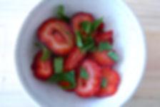 strawberry summer mint