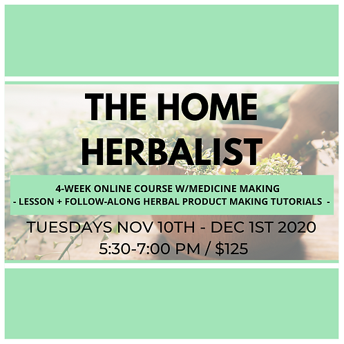 The Home Herbalist