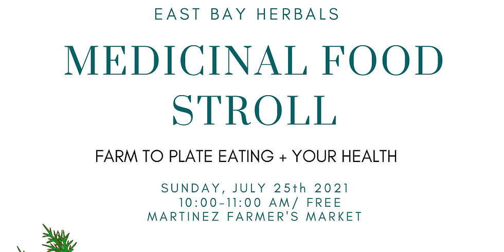 Medicinal Food Stroll: Farm to Plate Eating + Your Health