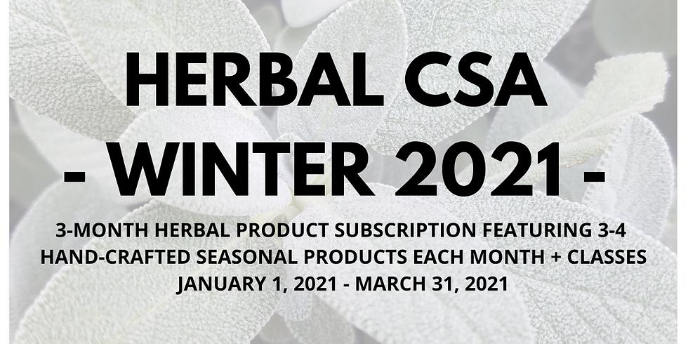 Winter Herbal CSA