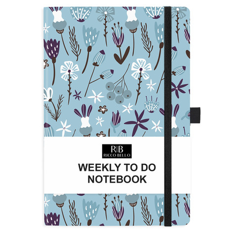 Blue Floral Hardcover