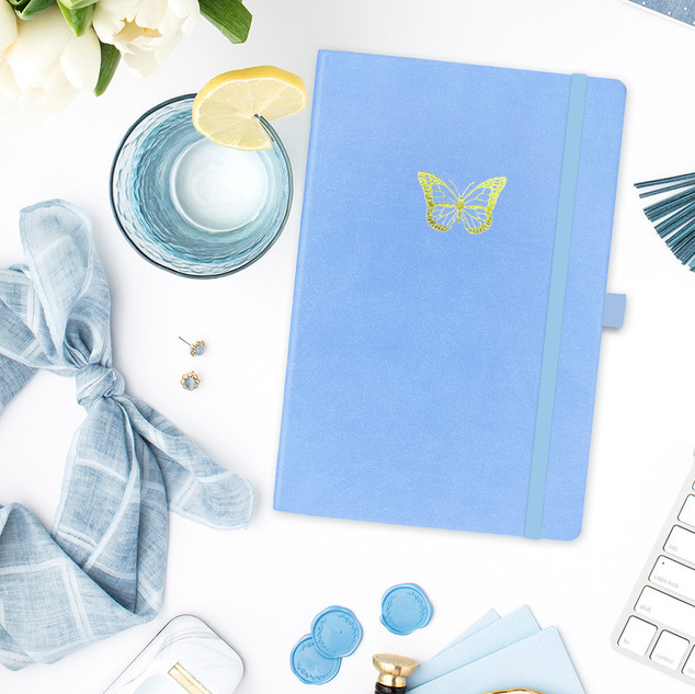 Ruled Notebook, Butterfly