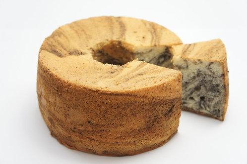 黒ごまマーブルシフォン(冷凍・同梱可)