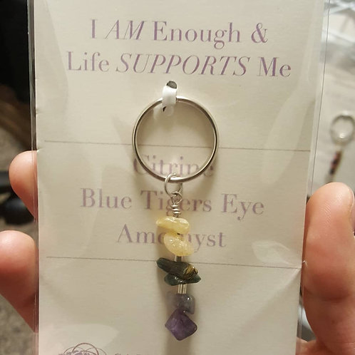 Alleviates Depression Affirmation Keychain