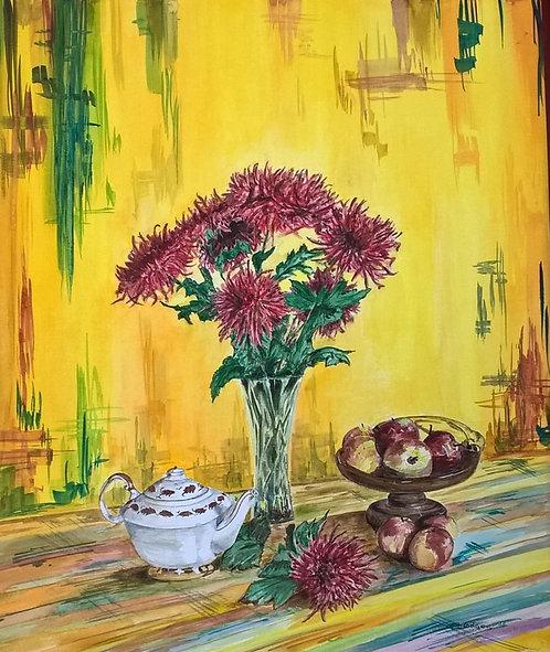 3: 'Crysanthemums'