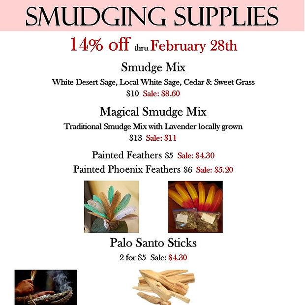 Smudging Supplies 14% off.jpg