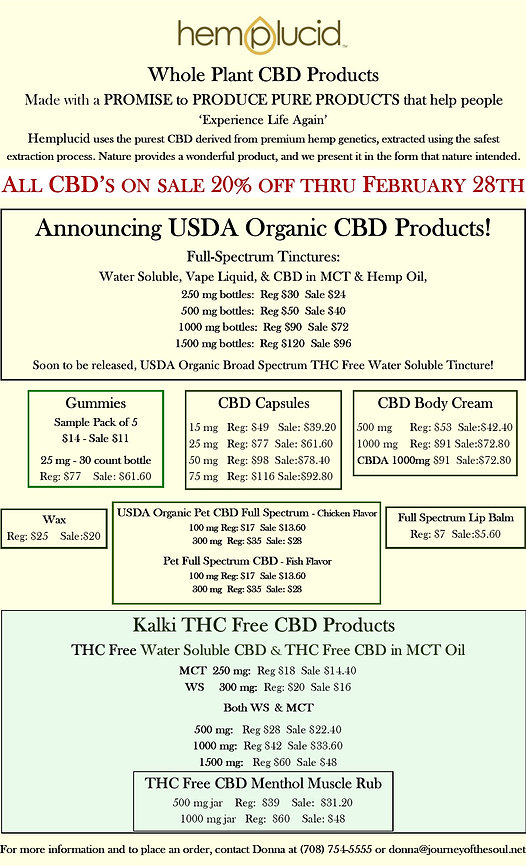 Sale February 2021 20% off with new pric