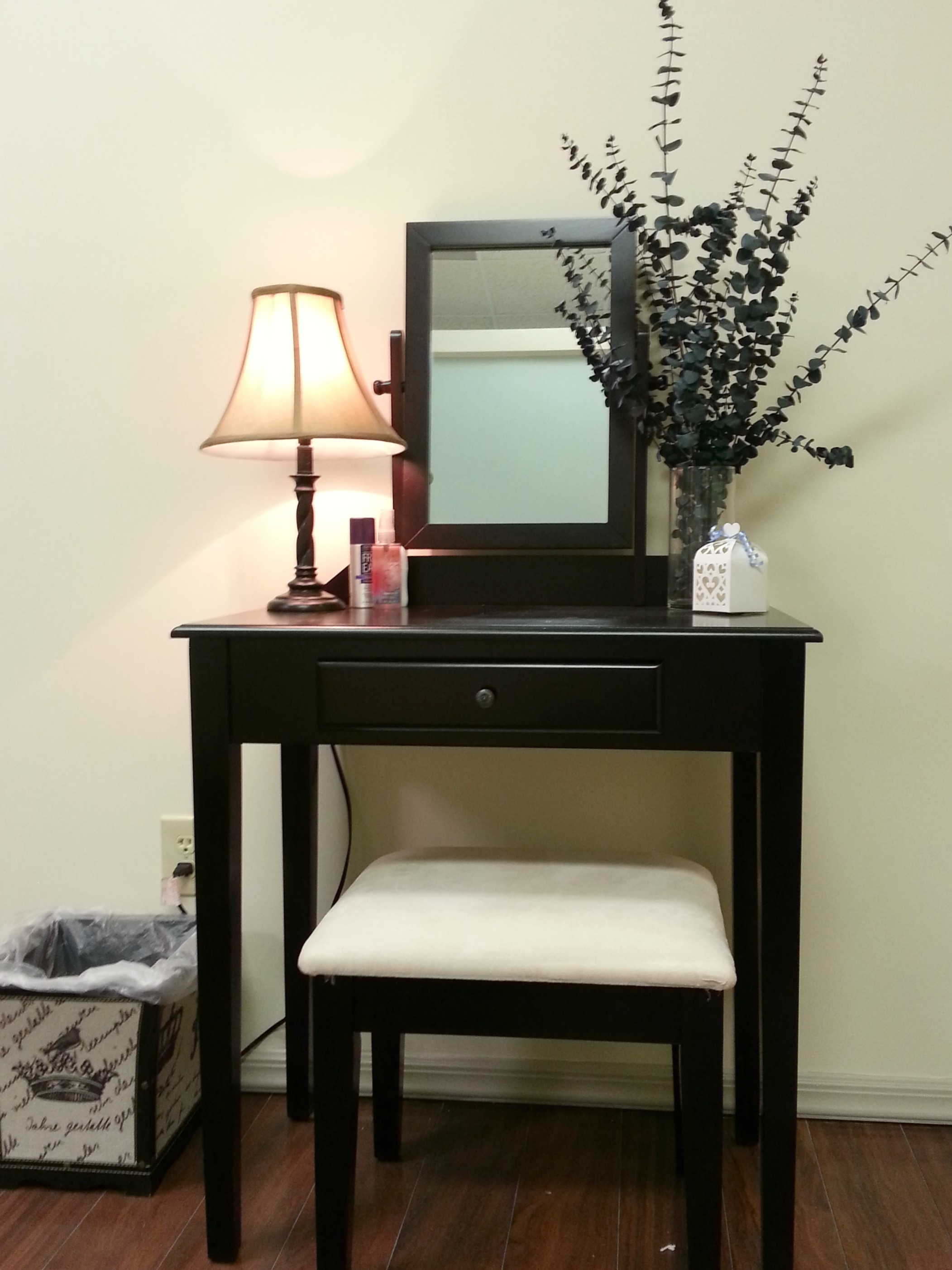 Mirror in Dressing Room