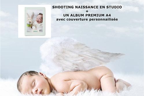 Pack Shooting Naissance + Album personnalisé