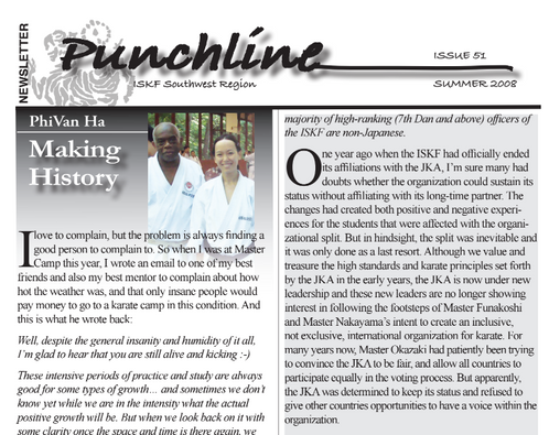 2 or 3 article I've written for Punchline