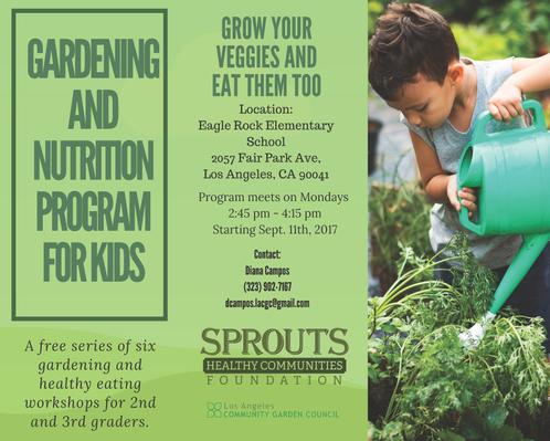 Gardening & Nutrition Program For Kids