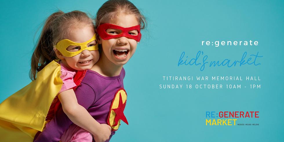 re:generate Kids Market