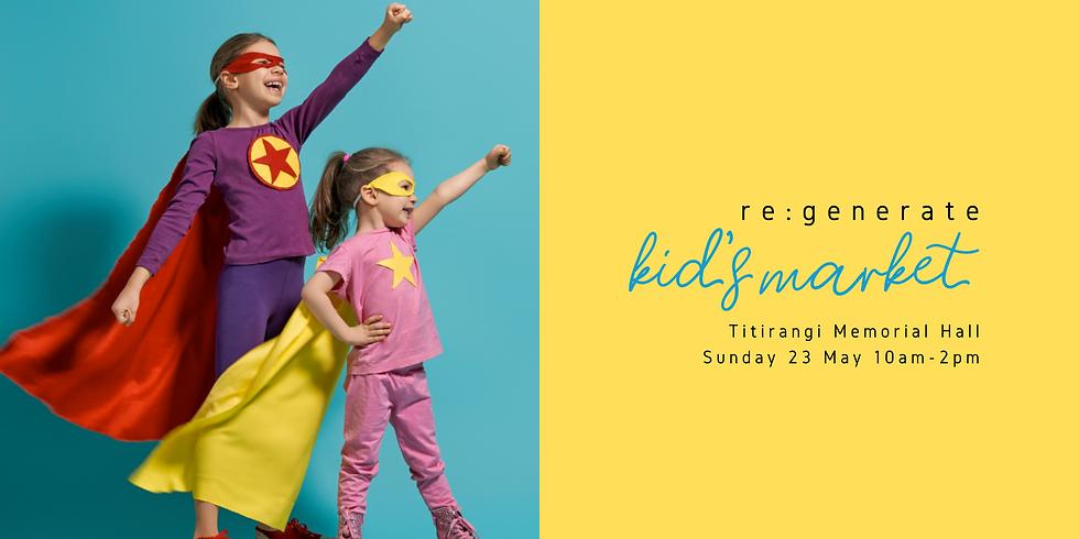 Titirangi re:generate Kid's Market