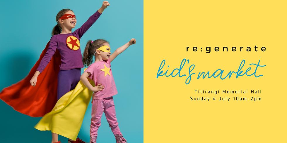re:generate Kid's Market